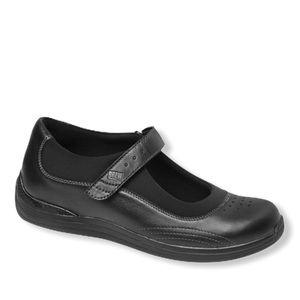 Drew Rose  Mary Jane Black Orthopedic Shoes Sz 9WW